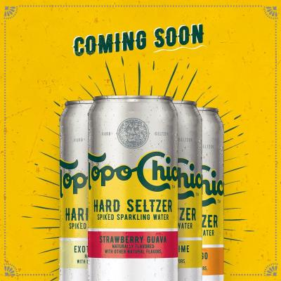 Get your taste buds excited for Topo Chico Hard Seltzer.