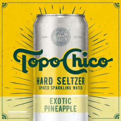 Grab our new Exotic Pineapple Hard Seltzer. A delicious balance of sweet and refreshing.