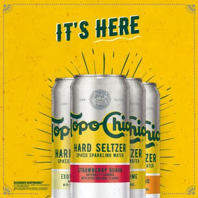 Introducing Topo Chico Hard Seltzer, the spiked seltzer born from a legend. Available now in select markets.